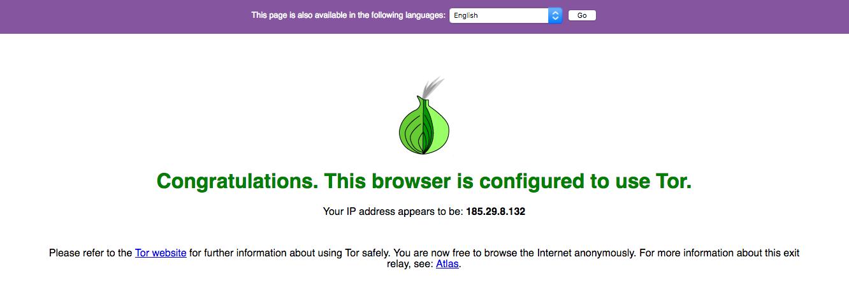 Cómo hacer un Proxy de Tor